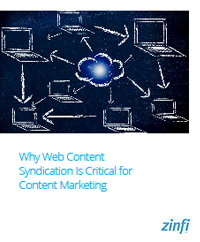 Why Web Content Syndication Is Critical for Content Marketing