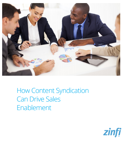 How Content Syndication Can Drive Sales Enablement
