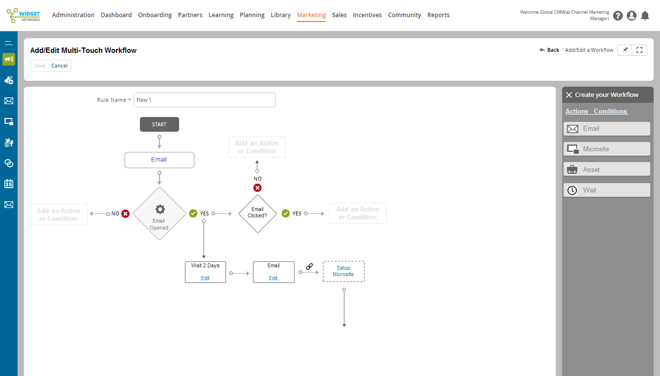 Multi-touch Engagement Workflow
