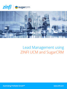 Lead Management Best Practices Using ZINFI's UCM Platform and SugarCRM