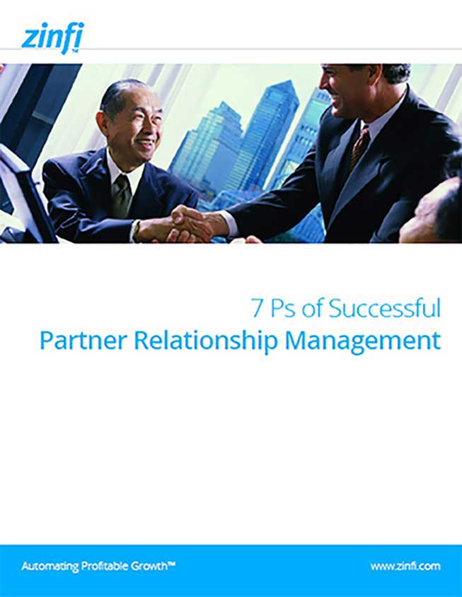 7 Ps of Successful Partner Relationship Management