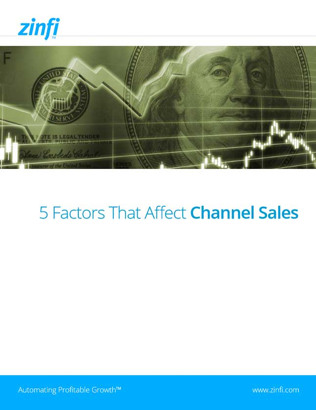 ZINFI eBook: 5 Factors That Affect Channel Sales