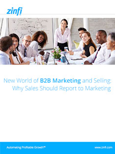 B2B Marketing Sales Reports to Marketing