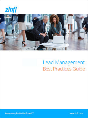 Lead Management guidebook cover