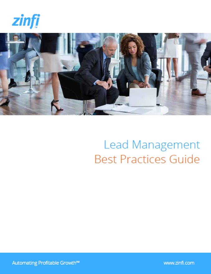 Lead Management Best Practices Guidebook Cover