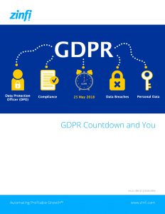 GDPR Count down and You