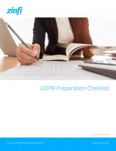 GDPR Readiness Checklist for Organisations