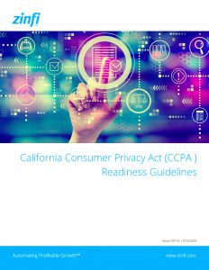 Consumer Privacy Act Readiness Guidelines