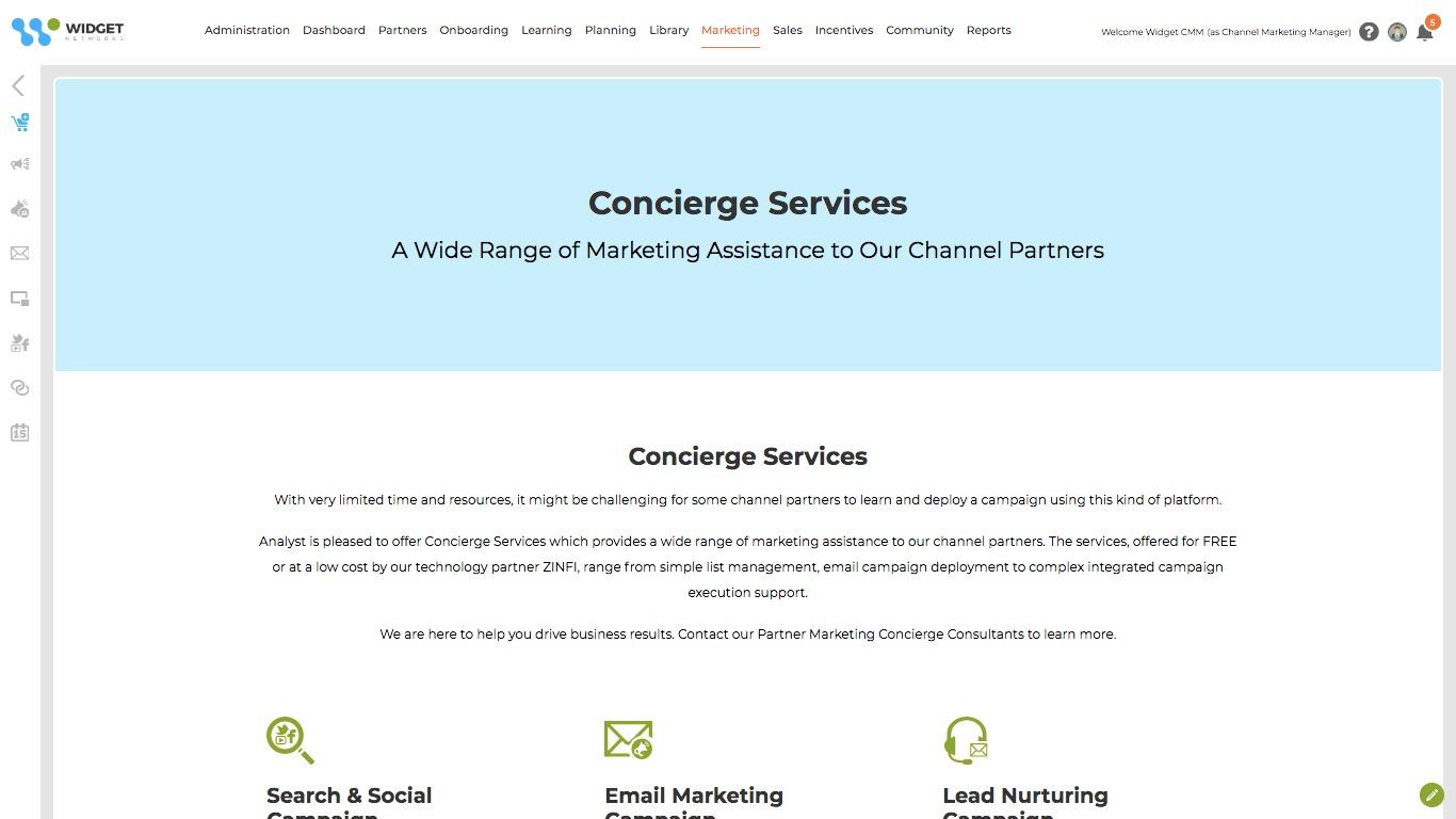 Marketplace Concierge Services